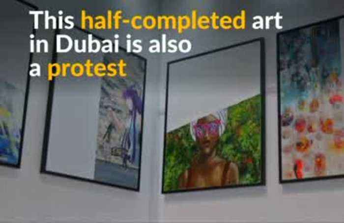 Incomplete art for incomplete pay: Dubai artists protest pay gap