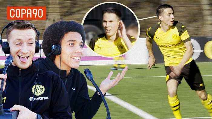 Mind Control Challenge ft. Reus & Witsel   Borussia Dortmund Special with pumafootball