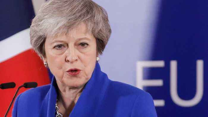 UK's May Says Hopes For Brexit Deal Are Fading--And It's The Government's Fault