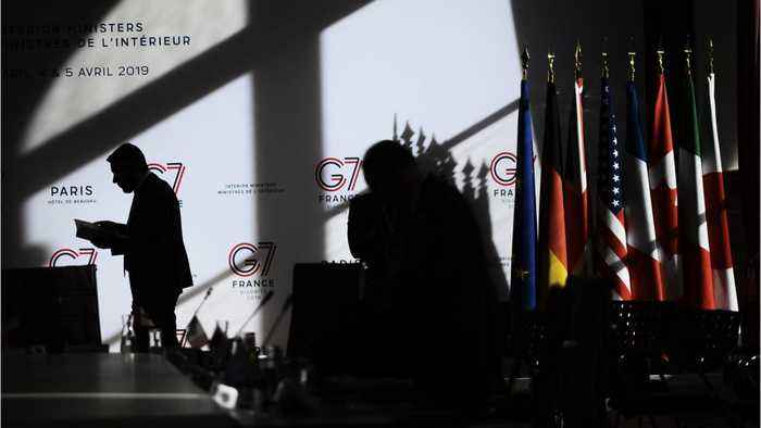 G7 Foreign Ministers Pause Talks To Warn Against Military Action In Tripoli