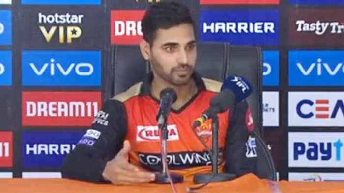 Bhuvneshwar Kumar blames batsman for losing match against MI | OneIndia News