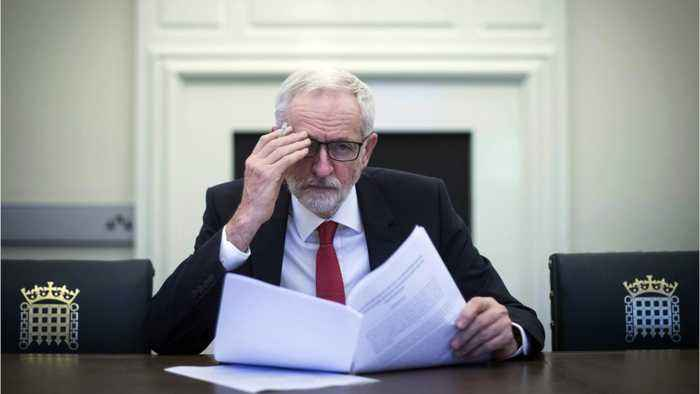 Opposition Leader Corbyn Says Still Waiting For May To Move 'Red Lines'