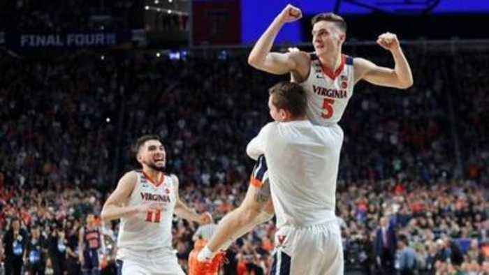 U.Va.'s Ty Jerome on Kyle Guy's game-winning free throws in Final Four