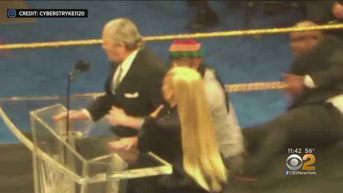 WWE's Bret Hart Attacked In Brooklyn