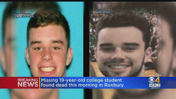 Missing Wentworth Student Max Carbone Found Dead In Roxbury