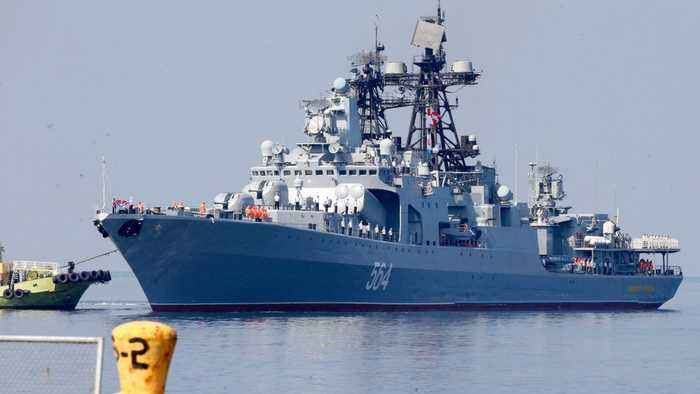 Russian Warships Arrive In Philippines