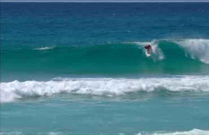 Teenager Marks hits surfing's heights with Gold Coast victory