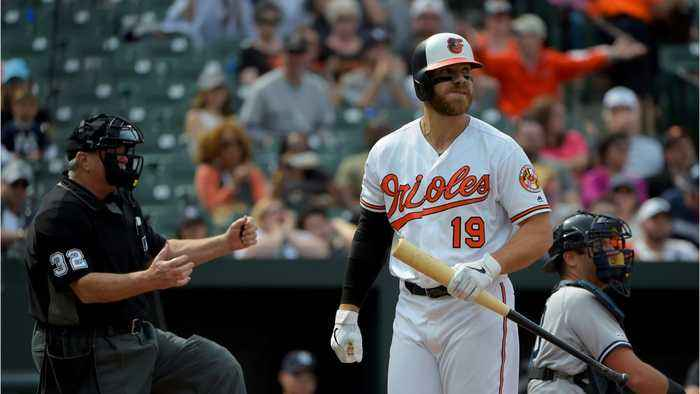 Chris Davis Is Setting All The Wrong Records