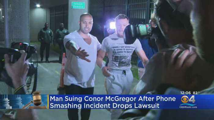Lawsuit 'Resolved' Against MMA Star Conor McGregor In Miami Phone-Smashing Incident