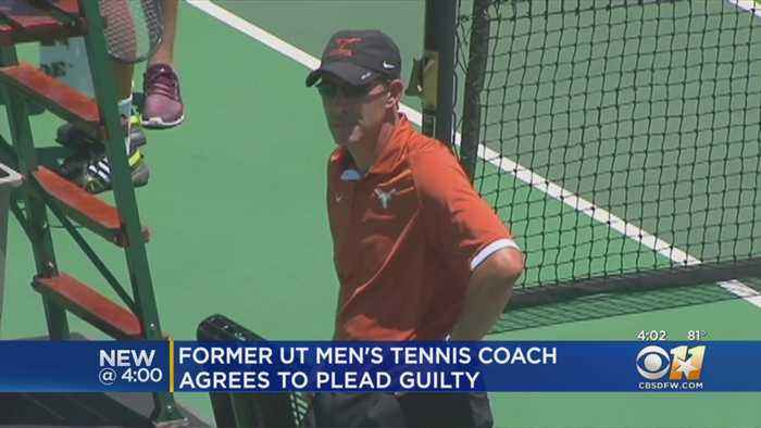 Former UT Men's Tennis Coach Agrees To Plead Guilty In College Admissions Scandal