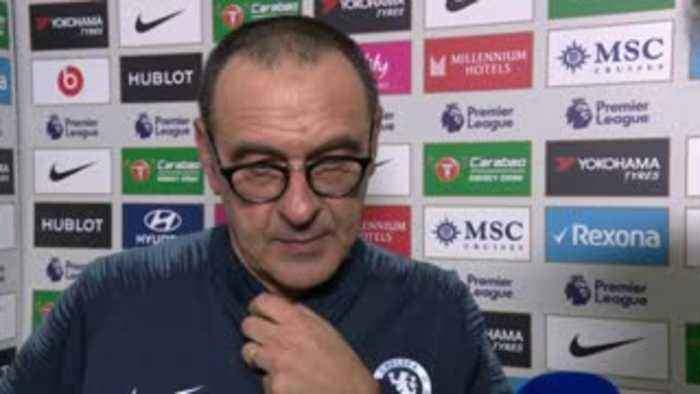 Sarri praise for 'wonderful' Hazard