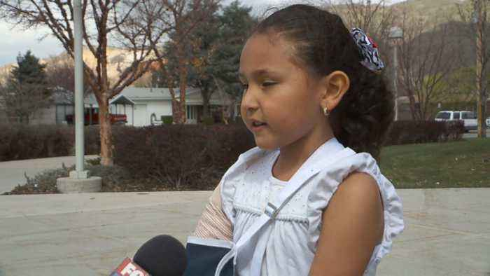 Utah Girl Recovering After Being Hit in Crosswalk