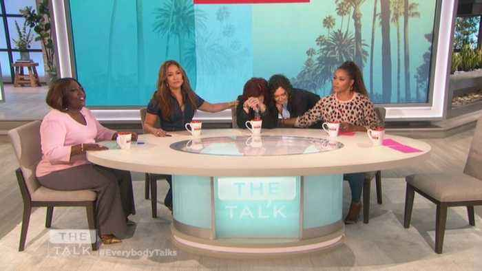 The Talk - Hosts React Emotionally to Sara Gilbert Saying She's Leaving 'The Talk'