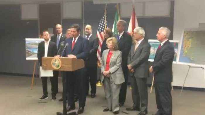 Press Conference: Governor DeSantis announces Collier getting money to help with hurricane recovery costs