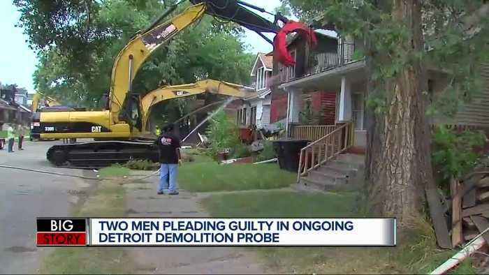 Feds get guilty pleas in first two bribery cases connected to Detroit demolitions