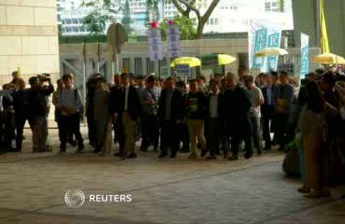 Hong Kong's 'Occupy' leaders found guilty over 2014 protests
