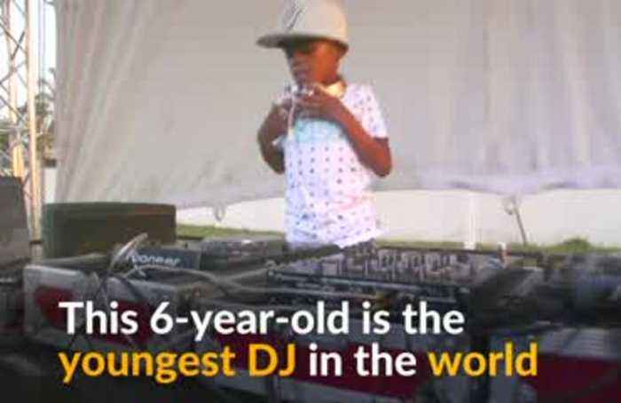 World's youngest DJ captivates crowds in South Africa