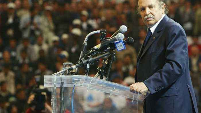 Algerian Parliament Names Interim President After Protests