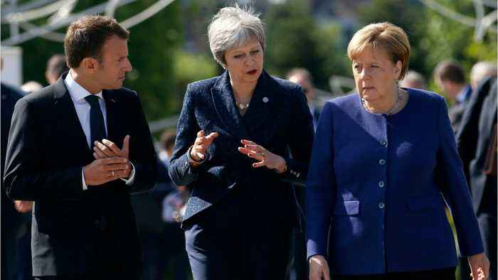 Theresa May Headed To France After Urging Germany To Assist On Brexit Impasse