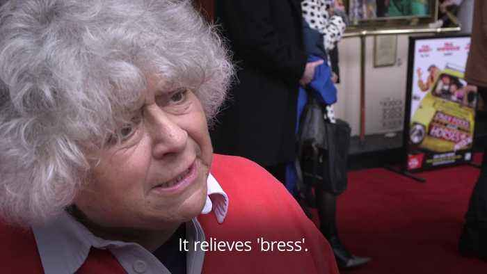 Miriam Margolyes criticises Theresa May for creating 'Brexit stress'