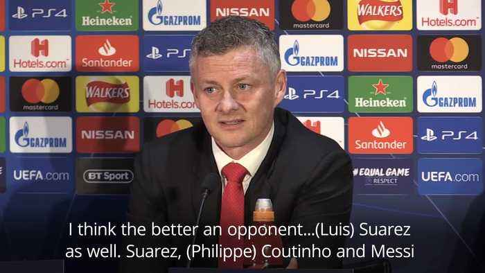 Solskjaer insists Barcelona are more than just Messi