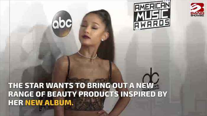 Ariana Grande applies for beauty trademark