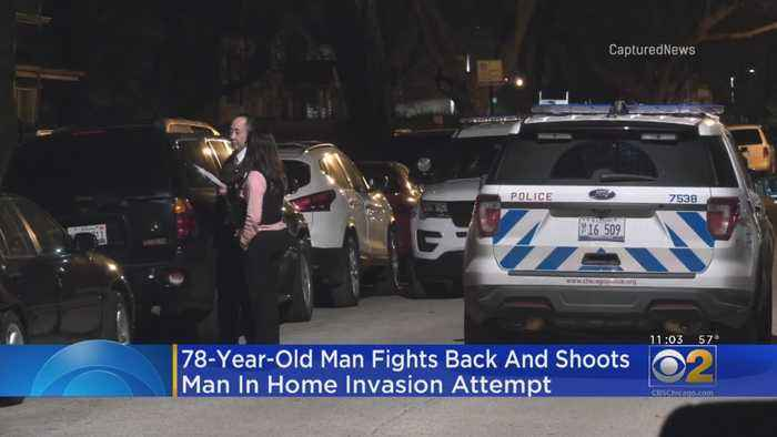 Homeowner Fights Back, Shoots Attempted Home Invader
