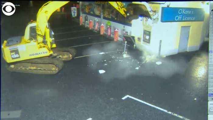 WEB EXTRA: ATM Ripped From Wall