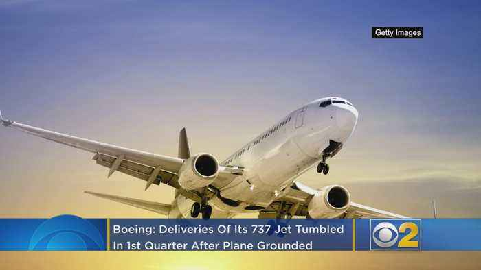 Boeing: Deliveries Of Its 737 Jet Tumbled In 1st Quarter After Plane Was Grounded Worldwide