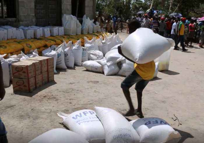 WFP Delivers Food Aid to Mozambique After Cyclone Idai