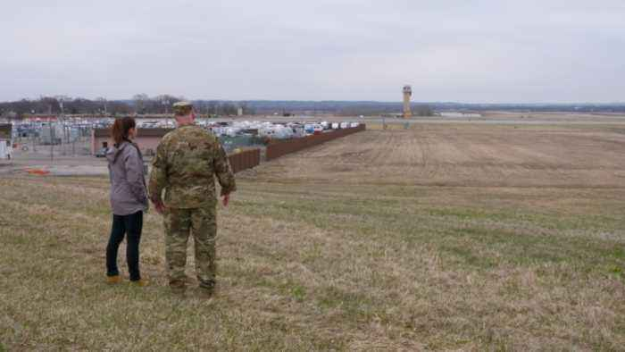 At a Flooded Air Force Base, Recovery Will Take Months
