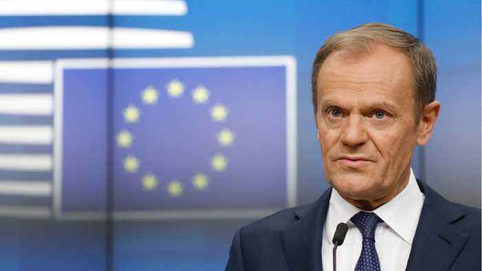 EU's Tusk Proposes Year Long Brexit Delay