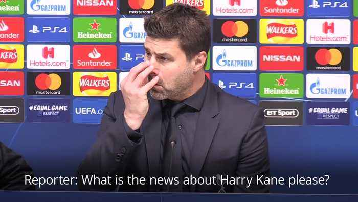 Mauricio Pochettino: Harry Kane could be out for rest of the season