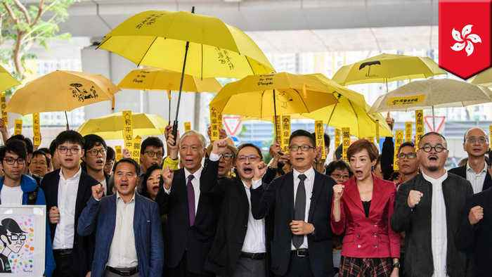 Hong Kong court finds 9 Umbrella Movement protesters guilty