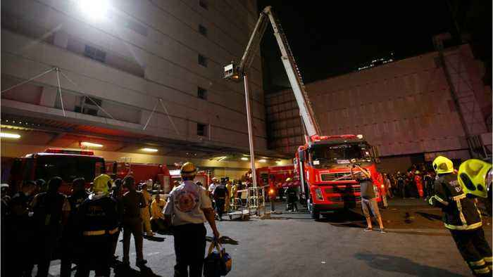 Three People Reportedly Dead After Massive Fire At Bangkok Mall, Hotel Complex