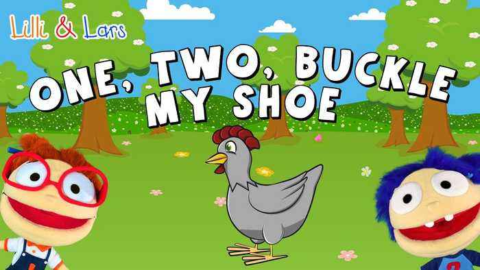 One, Two Buckle My Shoe with Lyrics | Nursery Rhymes for Kids | Popular Children's Songs