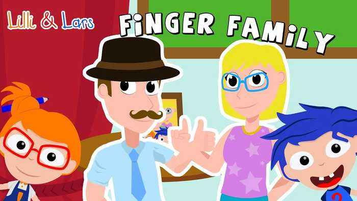 Finger Family nursery rhymes songs for kids - popular songs for kids with lyrics