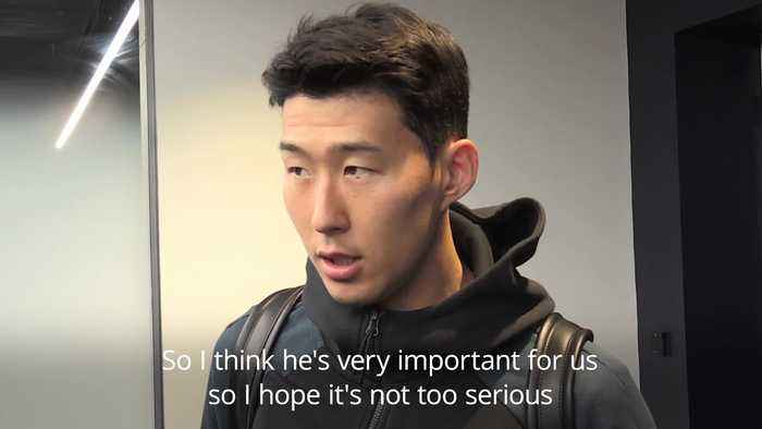 Son Heung-min: Injured Kane one of the best in Europe - but Spurs can cope