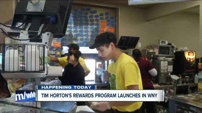 Tim Hortons Rewards coming to WNY - TODAY!