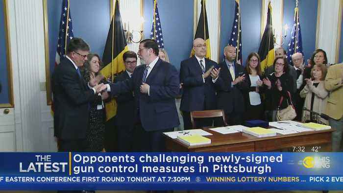 Fight Over City's Gun Control Legislation Rages On