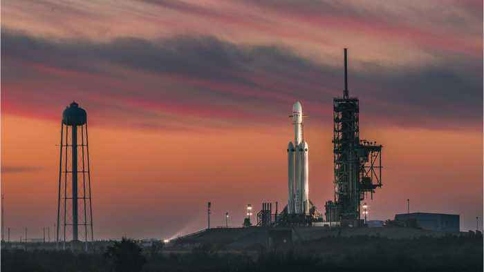 First Commercial Launch For SpaceX's Falcon Heavy