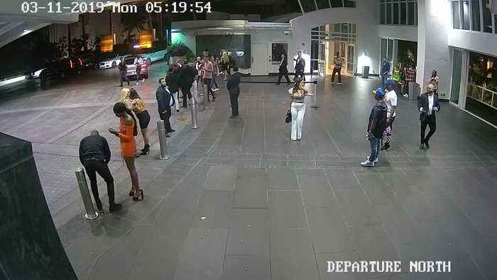 WEB EXTRA: New Surveillance Video Shows UFC Star Conor McGregor Smashing Fan's Phone Outside Fontainebleau
