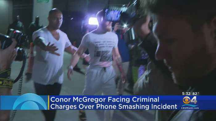 New Video Emerges Involving Conor McGregor's Phone Snatching Incident