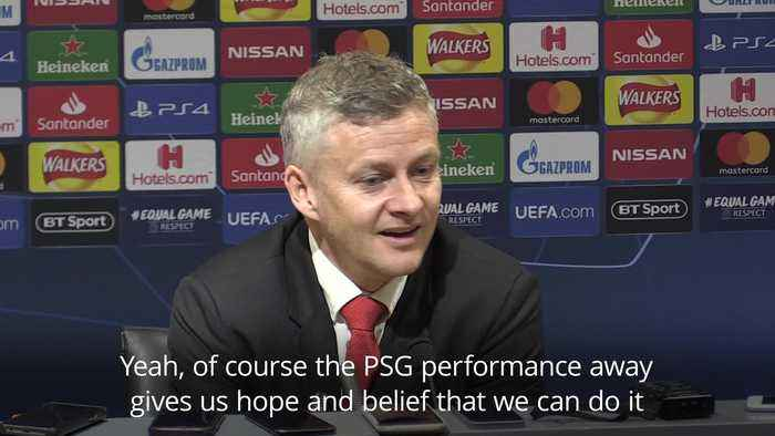 Ole Gunnar Solskjaer believes Camp Nou win would be greater than comeback against PSG