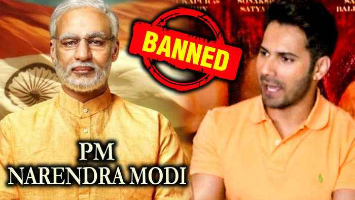 Varun Dhawan REACTS On Pm Narendra Modi Biopic BAN By Election Commission 2019