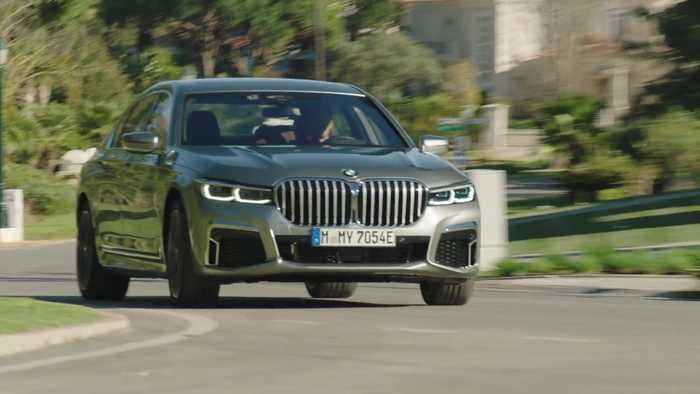 The BMW 745Le xDrive Driving Video