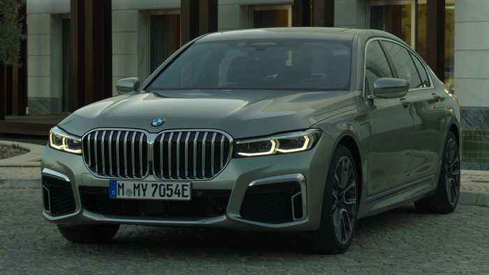 The BMW 745Le xDrive Exterior Design