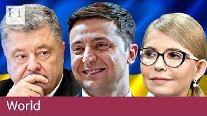 Fiction blurs into fact in Ukraine's presidency race