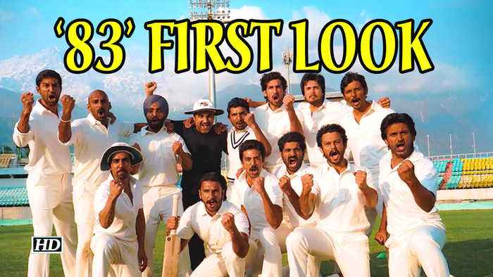'83' First look | Ranveer Singh relives 'India's greatest story'