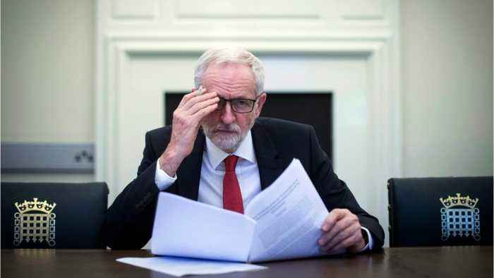 UK Labour's Corbyn Claims Government Showing Signs Of Compromise On Brexit